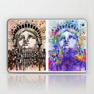 New York City Pop Art Laptop & iPad Skin