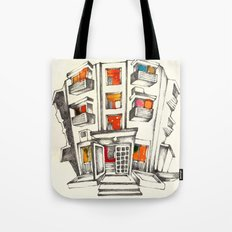 Japanese building Tote Bag