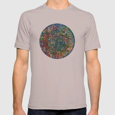 Planet Phoenix - Gouache on paper Cinder SMALL Mens Fitted Tee