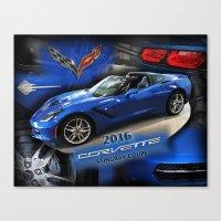 2016 Corvette Stingray Coupe Canvas Print