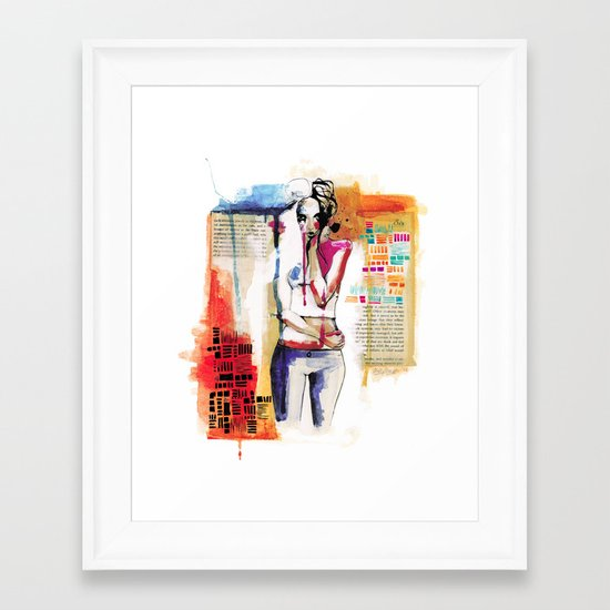 Sense VI Framed Art Print