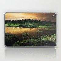 Light Polluted Lake Laptop & iPad Skin