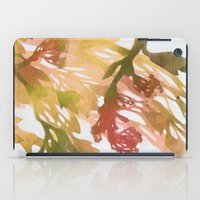 Morning Blossoms 2 - Olive Variation iPad Case