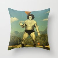 André Waz 'ere Throw Pillow