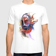 Sentinel White Mens Fitted Tee SMALL
