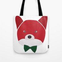Fox Vermelha Tote Bag