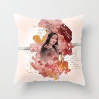 Shakespeare Ladies #2 Throw Pillow