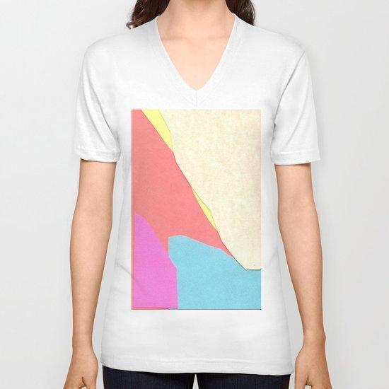Land One  V-neck T-shirt