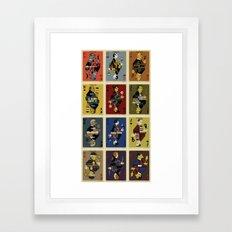 Archicards Framed Art Print