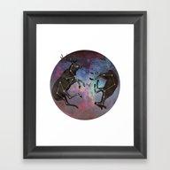 Framed Art Print featuring Constellation by Jamie Mitchell