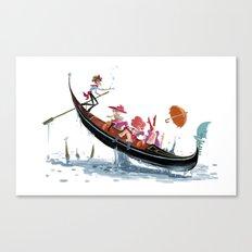 Pin up Venise Canvas Print