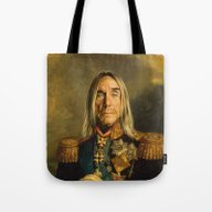 Iggy Pop - Replaceface Tote Bag