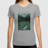 Landscapes / Nr. 2 Womens Fitted Tee Athletic Grey SMALL