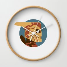 Headgear: Rocketeer Wall Clock