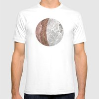 Planetary Bodies - Cresc… Mens Fitted Tee White SMALL