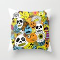 Halloween Print Throw Pillow
