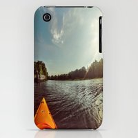 iPhone 3Gs & iPhone 3G Cases featuring Kayak 156 by Mitchell power