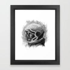 Go Get Her, CASE. Framed Art Print
