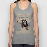 L'élégance du hérisson (Muriel Barbery)- COVERS OF BOOKS THAT NOBODY ASKED ME TO ILLUSTRATE N.1 Unisex Tank Top