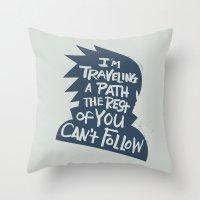 Will of Team 7 [Blue-Alt] Throw Pillow