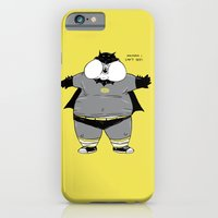 iPhone & iPod Case featuring Fat Kid Costume by pigboom el crapo