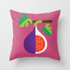 Fruit: Fig Throw Pillow