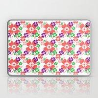 lucky flower multi Laptop & iPad Skin
