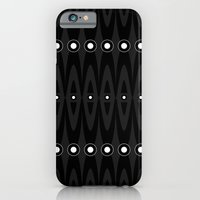 iPhone & iPod Case featuring Black pattern by Sobhani