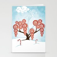 Magic Candy Tree - V3 Stationery Cards