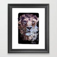 Heterochromia Iridum Framed Art Print