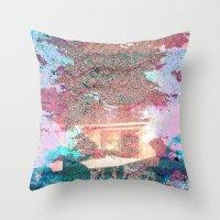 Lunar Arboretum Throw Pillow