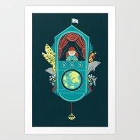Aquatic Adventurer Art Print