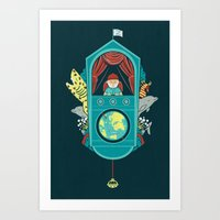 Aquatic Adventurer Art Print