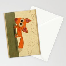 Cute Fox Stationery Cards