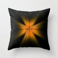 Throw Pillow featuring Burst by MattXM85