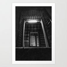Looking Up - Barcelona S… Art Print