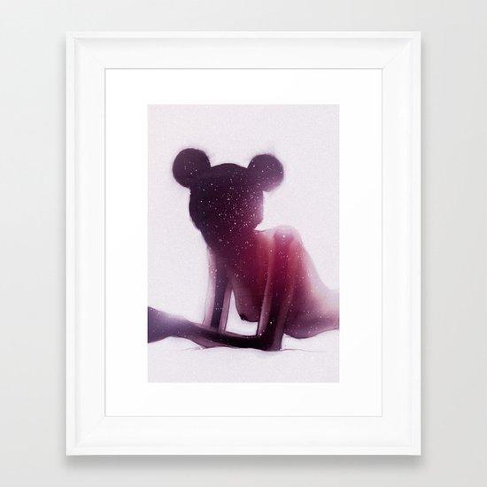 randomrandomrandom Framed Art Print