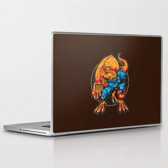Warning! Betrayal! Laptop & iPad Skin