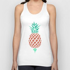 Sobriquet Pineapple. Unisex Tank Top