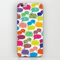 Speech Bubbles iPhone & iPod Skin