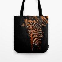 Zebra Mood Tote Bag