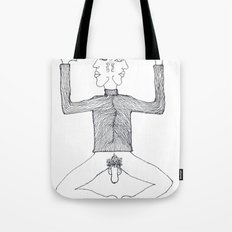 2face Tote Bag