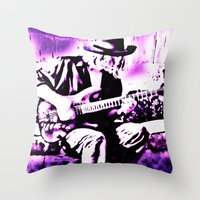 Rock N' Roll Gypsy Throw Pillow