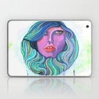Pretty Oceanic Ombre Fac… Laptop & iPad Skin