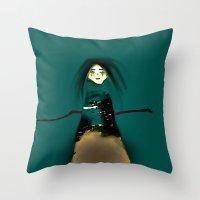 Monawalk Throw Pillow
