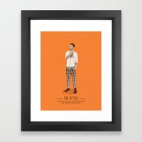 The Otter - A Poster Guide to Gay Stereotypes Framed Art Print