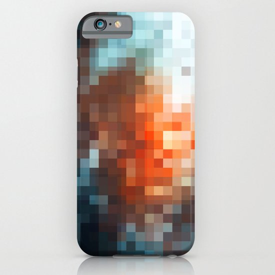 winter light - pixel pattern version - iphone iPhone & iPod Case