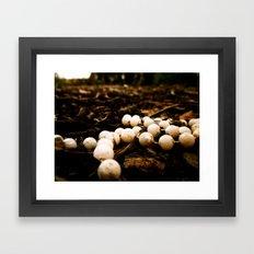 Forest Beads Framed Art Print