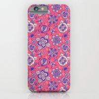 iPhone & iPod Case featuring Flower Pattern by Vivi Vasconez