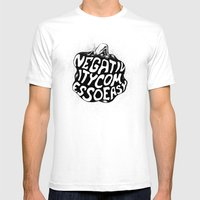 Negativity Comes So Easy Mens Fitted Tee White SMALL